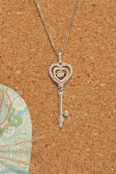 3203d3a55 Open Hearts Rhythm 1/10 ct tw Diamonds Sterling Silver/10K Gold. Mom JewelrySilver  JewelryPerfect ...