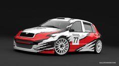 A. Piekarz - hillclimb (Škoda Fabia) - design and wrap - 2013.