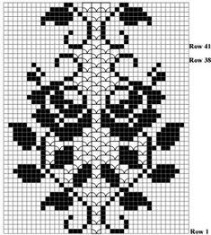 Paradise bird in the style of BOHO. in the footsteps of Alena Koblyanskaya # 1 :: Successful mother :: @ diaries: antisocial networkBird of Paradise w stylu boho . Dyskusja na temat liveinternet - Rosyjski serwis internetowy Diaries Filet Crochet Charts, Crochet Borders, Crochet Stitches Patterns, Thread Crochet, Knit Crochet, Knitting Patterns, Crochet Curtains, Crochet Tablecloth, Crochet Doilies