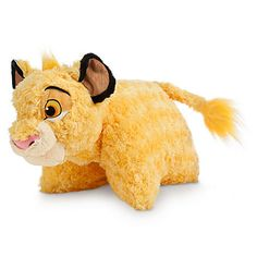 Disney The Lion King Simba Plush Pillow   I only like it if it the fuzzy curly haired one (as shown in picture)