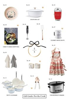 Gift Guide: For the Cook + Williams Sonoma Giveaway | Sequins & Stripes | Bloglovin'