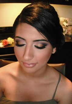 Bridal Makeup. So pretty!