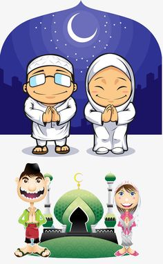 Muslim students PNG and Clipart