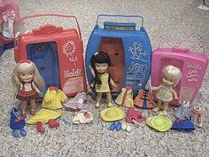 My 3 Heidi dolls: Heidi, her friend Jan & sister Hildy