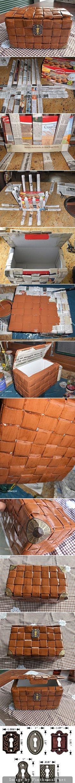 caja forrada/ peti harta karun