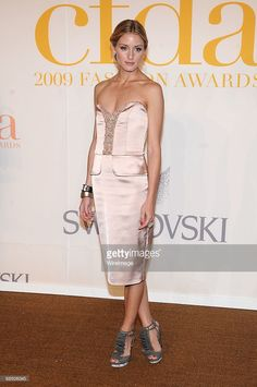 TV Personality Olivia Palermo attends the 2009 CFDA Fashion Awards at Alice Tully Hall, Lincoln Center on June 15, 2009 in New York City.