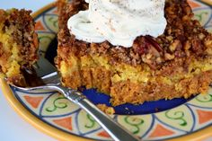 Make and share this Pumpkin Pie Crunch recipe from Genius Kitchen. Pumpkin Pie Crunch Recipe, Pumpkin Pecan Pie, Pumpkin Dessert, Pumpkin Recipes, Pie Recipes, Pumpkin Spice, Dessert Recipes, Pumkin Cake, Yummy Recipes