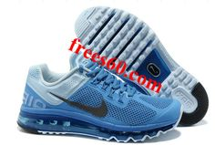 frees60.com for half off nike shoes $64.23 , Mens Nike Air Max 2013 Blue Black Shoes