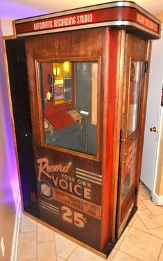 Mutoscope Voice O Graph 1957 Coin Operated Record 45 78