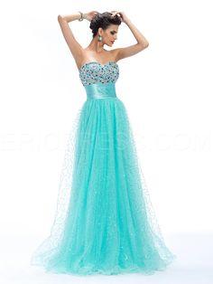 Alluring A-Line Sweetheart Beading Empire Long Prom Dress Evening Dresses 2014- ericdress.com 10994617