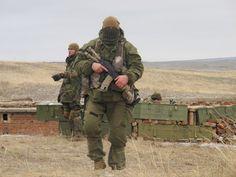Azov soldiers.