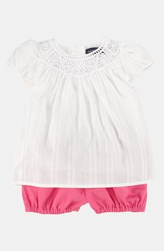 Ralph Lauren Tunic & Bloomers (Infant) available at #Nordstrom