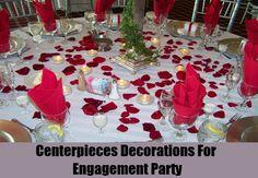 6 Unique Engagement Party Decorations Ideas