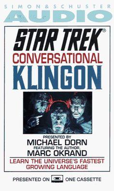 Star Trek: Conversational Klingon @ niftywarehouse.com #NiftyWarehouse #StarTrek #Trekkie #Geek #Nerd #Products