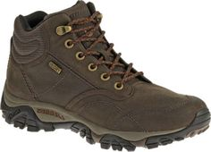 Official Merrell Site – Discover the men's Moab Rover Mid Waterproof boots. These men's all-weather, leather hiking boots will get you outside in the cooler months. Big Men Fashion, Mens Boots Fashion, Waterproof Winter Boots, Wide Shoes, Men Hiking, Merrell Shoes, Cool Boots, Hiking Shoes, Brown Boots