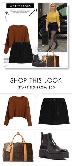 """get the look"" by lululafitte on Polyvore featuring moda, Chicnova Fashion, rag & bone, Louis Vuitton y Jeffrey Campbell"