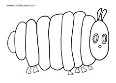 Activity Whole page Book: The very hungry caterpillar - page Very Hungry Caterpillar Printables, Hungry Caterpillar Activities, Eric Carle, Chenille Affamée, Felt Stories, Coloring Pages, Activities For Kids, Preschool, Albums