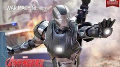 Avengers 2: nuova action figure Hot Toys di War Machine Mark 2