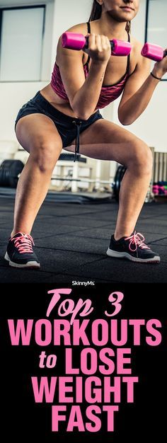 Top 3 Workouts to Lose Weight Fast