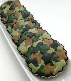 camo cookies..so cool!!