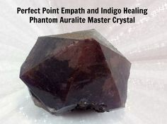 BLACK FRIDAY SALE: Half Off Black Auralite Phantom Indigo and Empath Healing Crystal.  Includes free class for indigos or empaths.  #Bf06 by THEHOMEOFOMMM on Etsy