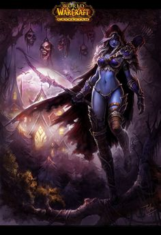 Sylvanas Windrunner the Dark Lady You wanna earn more gold in WoW >>> www.world-of-warcraft-gold-addon.com <<<