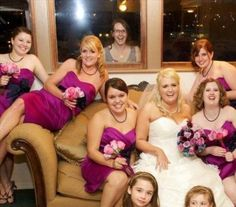 Even though Helen was not asked to be in the wedding party, she was nonetheless determined.