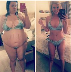 before and after  Fitness motivation ♡ pinterest: @aiyanacooper1 ♡
