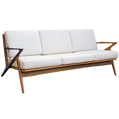 "Danish Modern Selig ""Z"" Sofa - Poul Jensen 