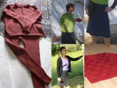 Maglie e golf bellissimi in design meravigliosi di lana leggera. Fai-da-te - guide a lavorare maglia di domoras