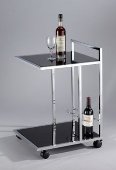 Glas wijn Trolley winkelwagen - SA059 |