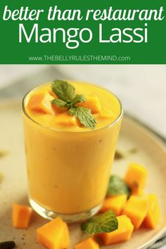 Vegan or not, you are going to love this smoothie-like Vegan Mango Coconut Lassi even more than the restaurant Mango Lassi. Try it yourself!!! Guess what? All you need is 5 simple ingredients plus it's naturally sweetened. Kickstart your day with this delicious Lassi, enjoy it on the side with your meal or simply wow your guests. You are sure to fall in love with this recipe. Delicious Vegan Recipes, Easy Healthy Recipes, Vegetarian Recipes, Amazing Recipes, Superfood Recipes, Smoothie Recipes, Smoothies, Brunch Recipes, Breakfast Recipes