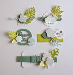 Scrapbook or Card Embellishments Scrapbook Borders, Scrapbook Embellishments, Diy Scrapbook, Scrapbook Layouts, Karten Diy, Topper, Candy Cards, Origami, Envelopes