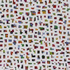 Elisabeth von Wrede Cueillette 90x90 cm #oilpainting #contemporaryart #abstract #artcollectors #artgallery