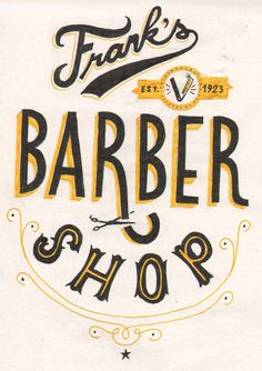 Retro barber shop