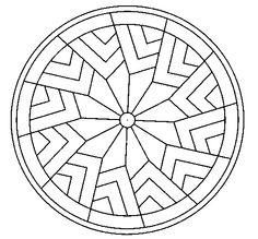 Dibujo de Mandala 24