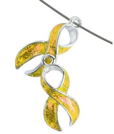 Childhood Cancer Awareness Ribbon Charm