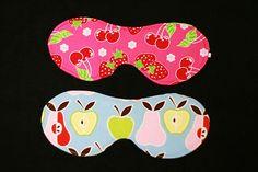 Eye Masks using the Minkee Eye Make Tutorial/Pattern from Prudent Baby #sewing