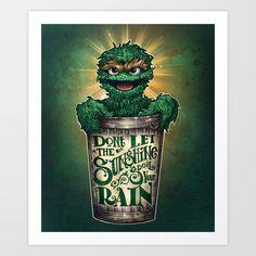 Don't Let The Sunshine Ruin Your Rain Art Print by Tim Shumate - $19.76