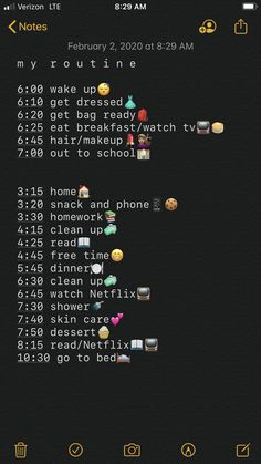 School Routine For Teens, Morning Routine School, School Routines, Daily Routines, Middle School Hacks, Life Hacks For School, School Study Tips, School Tips, Schul Survival Kits