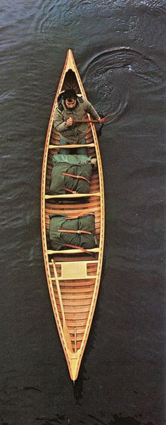 Cedar Canvas Canoe & Duluth Packs
