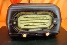 Vintage 1952 Radiola 539ma Austrália Moldado Baquelite Rádio De Tubo ~ Modelo Raro!