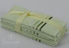 Набор полотенец BALE светло-зеленый 30х50 (3шт) от Karna (Турция) - купить по низкой цене в интернет магазине Домильфо