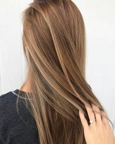Dark blonde hair possesses a lot of depth and definition that is hard to replicate with any other hair color. The darker tones help to add color to the face (dark blonde hair with highlights)