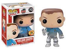 [SDCC 2013 Exclusive] Funko - The Big Bang Theory: Star Trek Sheldon Cooper - $15