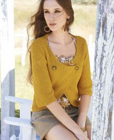 Lana Grossa KURZJACKE Cashcot - FILATI No. 47 (Sommer 2014) - Modell 11 | FILATI.cc WebShop
