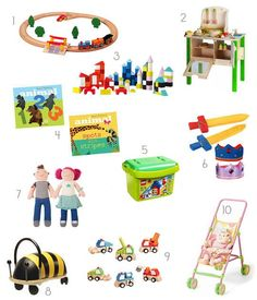 Best Gifts for Toddlers Apartment Therapy Gift Guide 2012