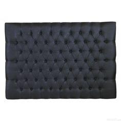 Sänggavel Hilton lyx Vintage AC svart 80-210cm