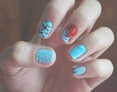 Movie-Inspired Nail Art: The Arena In Catching Fire Catching Fire, Art Tutorials, Nail Art, Inspired, Nails, Movies, Inspiration, Beauty, Sands