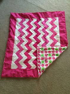 Lilly's quilt I made for her first Birthday